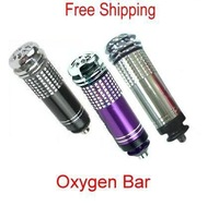 Car Auto Mini Fresh Air Purifier Oxygen Bar Ionizer ** Free Shipping **