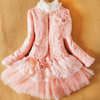 Children's clothing female child 2014 child  lace spaghetti strap short skirt three pieces set female child princess