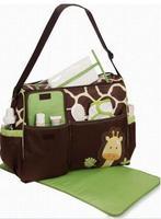 High quality Retail Fashion 2014 Multifunctional Nappy Mummy Bag Maternity Handbag Diaper Bags baby Tote Organizer hot sale mb03