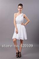 free shipping romantic chiffon bride dress simple designer wedding gowns custom made