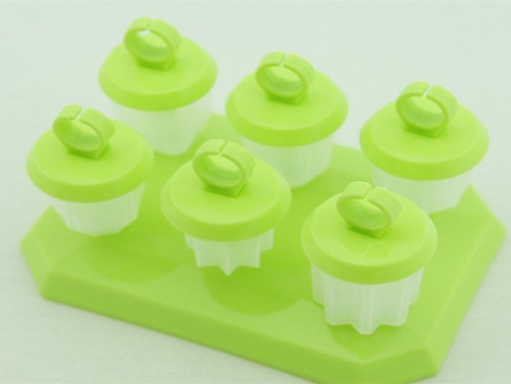 ... Green star pop maker mold freezer ice popsicle yogurt ice cream frozen