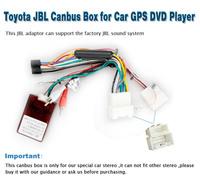 Pumpkin CS-Z0002, toyota JBL Canbus Box for car dvd player ,Free Shipping