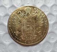 1874 Austria 4 Ducat Gold Coin COPY FREE SHIPPING