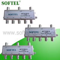 [SOFTEL]5-1000MHz indoor catv tap 6 way, RF catv splitter tap, digital catv tap
