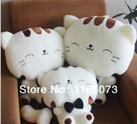 Super cute cat doll big face cat plush toys plutus cat rice ball stuffed toys, baby toys