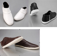 2014 Fashion Men's Flats Ankle Boots Business Shoes Slip on Sneakers  Hot   Free shipping