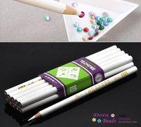 10PCs Rhinestone Pickup Pencils/Tools for Nail Art,Scrapbooking (B19861)