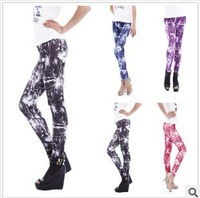 2014 New Arrival Supernova Cosmo Printed Milk Silk Lightning Women Fashion Galaxy Leggings Space lady Pants 4 Colors