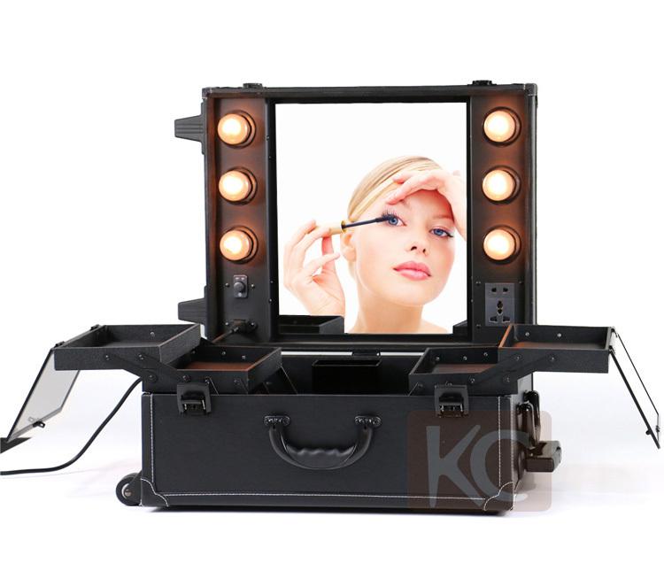 Train Case Makeup Studio