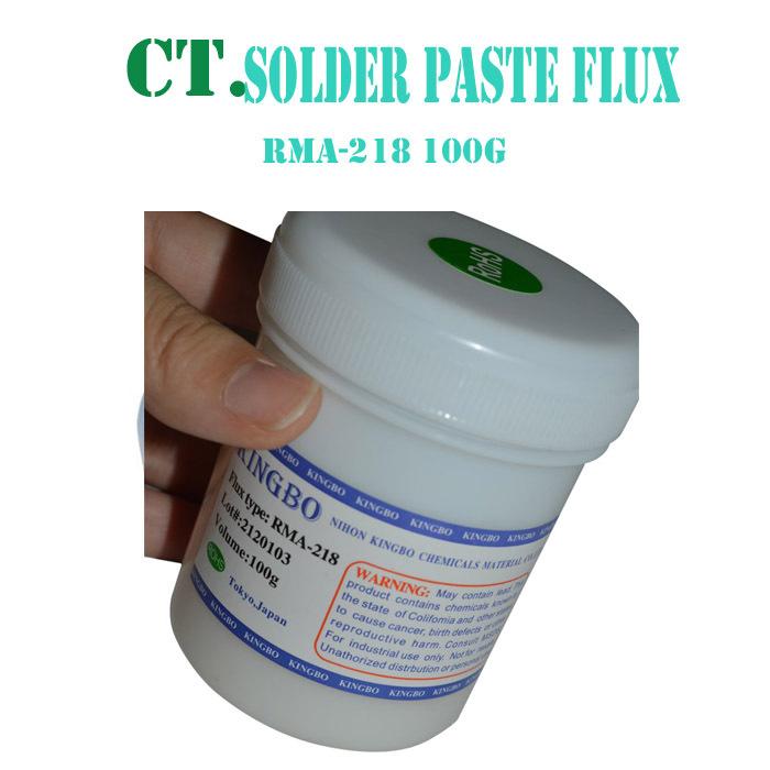 KINGBO RMA-218 100g Bga Solder Paste Flux For Reballing Soldering Accessories(China (Mainland))