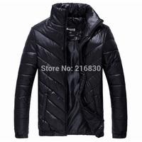 Free shipping 2014 newarrival winter autumn big size blazer man fashion down coat brand tracksuit sports jackets hot selling