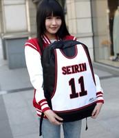 New Kuroko's Basketball Backpack Kuroko Tetsuya Sports leisure Backpack Global set limit to 2000 Anime Free Shipping