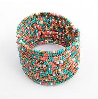 YXSP4517      2014 new fashion    Bohemian beads opening    Bracelets for women