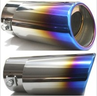 Free Shipping!Professional Exhaust Pipes End Eduction Pipe,Rear Pipe Exhaust system Car products Auto Decoration Accessories