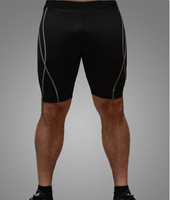 Free Shipping Summer New Male Fashion Short Pants For Sports Stretchy Tight Quick dry  4 colors CMR64