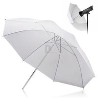 "New 32"" 83cm Diffuser Translucent Photo Studio Flash Soft Umbrella White For Camera Photo P0012677 Free Shipping"