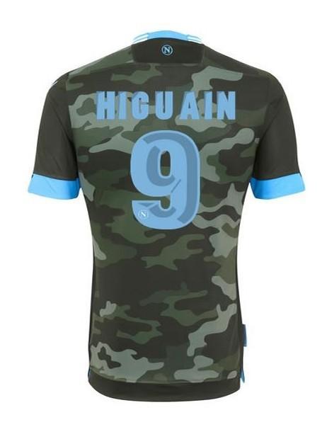 Livraison gratuite napoli loin maillots de football higuain thaïlande. qualité #9 soccer unforms kit maillot de football à bas prix