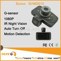 2014NEW Freeshipping SUNCO SVMD010 1080P Ambarella Car DVR Recorder 140 degree Motion Detect G-Sensor Cycle recording Carcam