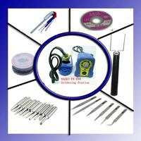 110/220V HAKKO 888 Fx888 Solder Station Electric Soldering  Iron + 20 free gifts