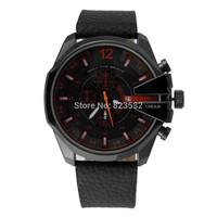 Atmospheric clock  fashion luxury brand DZ 4291 sports watches,men's military quartz watch (black)Calendar LIFE waterproof watch