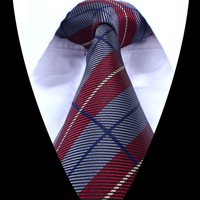 high quality New Classic Striped Male 1200-pin Jacquard Woven Men Necktie Tie 100% Silk 662