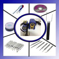 110/220V HAKKO 888D Fx-888D fx888D Solder Station Electric Soldering  Iron + 20 free gifts