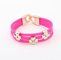 YXSP4536       2014 new fashion  Fashion Clover    Bracelets for women