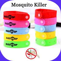 10 Pcs / Lot Summer Mosquito Killer Mosquito Repellent Bracelet Purely Natural Citronella Plants Material