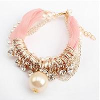 YXSP4543       2014 new fashion   Fashion multi-pearl diamond   Bracelets for women
