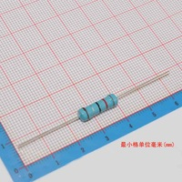 10  ohm (10R0)  1% 3W Metal Film Resistor  free ship, 1000PCS/lot