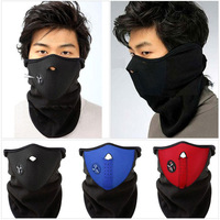 Red Black Blue Bike Motorcycle Ski Snow Snowboard Sport Neck Winter Warmer Face Mask outdoors sport bicycle cycle mask wholesale