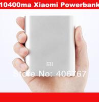 Wholesale Free Shiping 10400mah Power Supply Xiaomi Power Bank New 2014 Charger Powerbank 100PCS/lot