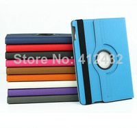 Magnetic Smart Cover PU Leather Smartcover Rotating Stand Defender multi-functions Tablet Case For Apple iPad air 5 20pcs/lot