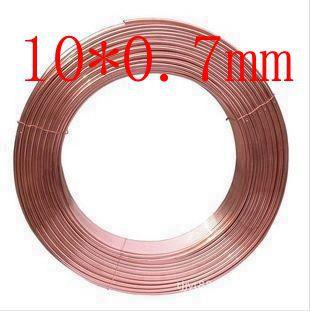 10X0.7mm Copper tube/hose/soft copper pipe/pure copper pipe/tube/coil/air conditioner(China (Mainland))