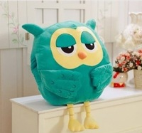 New 45 cm owl/successors to the original stuffed owl warm hand puppet doll pillow cushion for leaning on