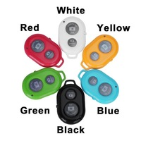 Wholesale 40 Pcs/Lot Universal Bluetooth Remote Shutter Camera Control Self-timer Shutter for iPhone Samsung iOS / Andriod