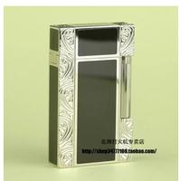 International brands are Peng Lang STDupont/lighter - silver black carved lacquerware