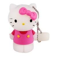 Lovely animal mini pen drive hello kitty gift pendrive 8gb 16gb 32gb cat Hello Kitty cartoon usb flash drive USB2.0 memory stick