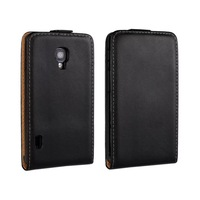 Genuine Leather Case For LG Optimus L7II , Flip Real Leather Cover For LG L7 II 2 P715 P713 P710 ,MOQ:1PC free shipping