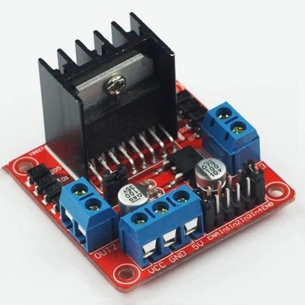 L298N motor driver board module for arduino stepper motor smart car robot Arduino Smart Car FZ0407 Free Shipping(China (Mainland))