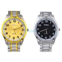ROSRA Watches Men Luxury Brand Relogio Masculino Men Quartz Watch Men Full Steel Watch Men Wristwatches New 2014