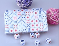 Free shipping, Min order (15pcs),11.6mm dice white dice Specially products game plastic gambling poker fun ktv bar