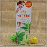 Green  tea  Hand cream & moisturizing whitening &       70 g  free shipping