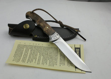 Hot Sale ! Oem Browning Shadow Wood Hunting Knife Camping tool Survival Knife Outdoor Free Shipping