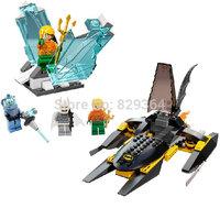 DIY Super heroes series Batman War Mr.Freeze Scenes Minifigures Model Building Blocks Sets Toys Figure Bricks lego compatible