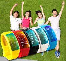 popular flash digital watch