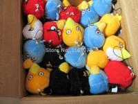 learning & education/ classic toys 8 cm plush toys, bird pendant, 5 color optional, plush dolls, free shipping