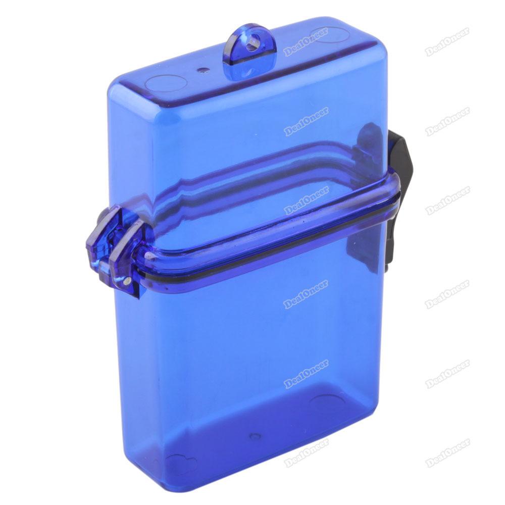 top quality dealoneer Outdoor Waterproof Plastic Container Case Key