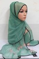 (free shipping)muslim shawl ,muslim scarf ,muslim hijab ,can choose colors