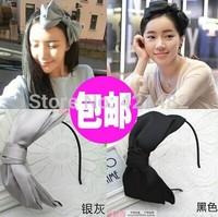 Free Shipping Women's Chiffon Bow Hair Hoop Headband Hair Band Bowknot headwear